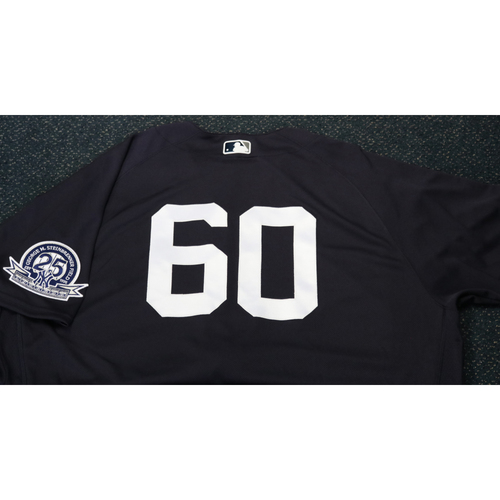 Photo of Team-Issued Spring Training Jersey - Mike Harkey - #60 - Jersey Size - 52