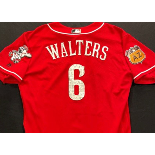 Photo of WALTERS -- Authentic Reds Jersey -- $1 Jersey Auction -- $5 Shipping -- Size 46 (Not MLB Authenticated)