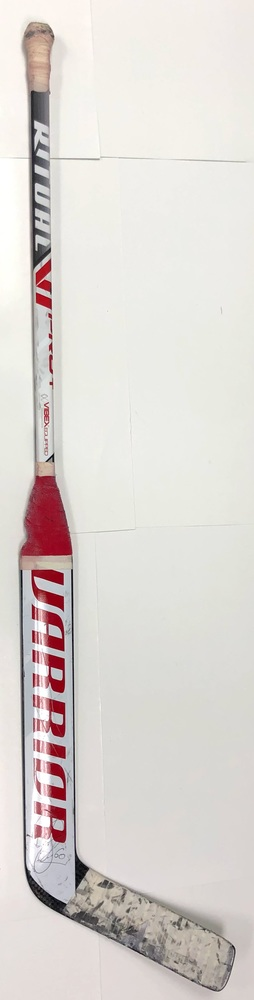 #60 Chris Driedger Game Used Stick - Autographed - Florida Panthers