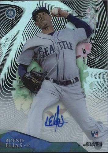 Photo of 2014 Topps High Tek Autographs #HTRE Roenis Elias