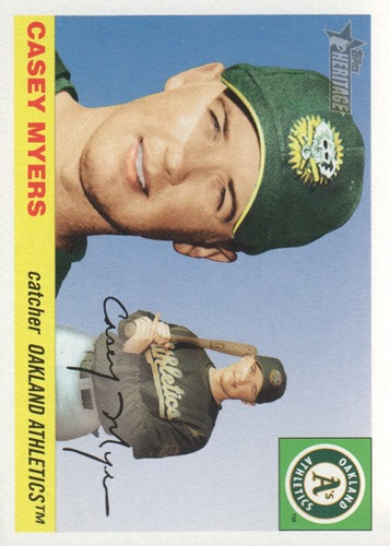 Photo of 2004 Topps Heritage #84 Casey Myers RC