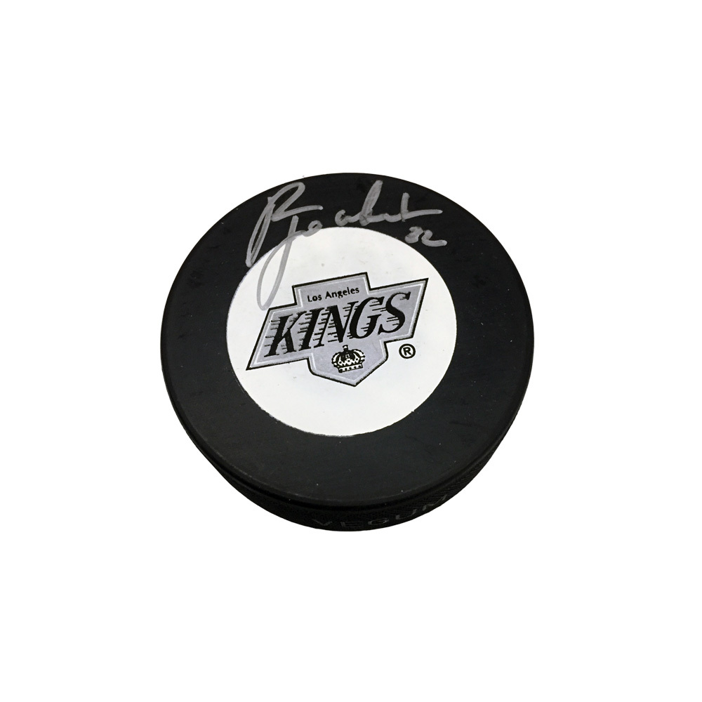 RICK TOCCHET Signed Los Angeles Kings Puck