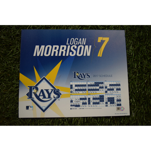 2017 Team-Issued Locker Tag - Logan Morrison