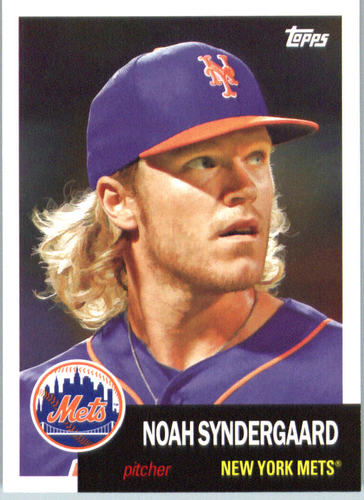 Photo of 2016 Topps Archives #87 Noah Syndergaard