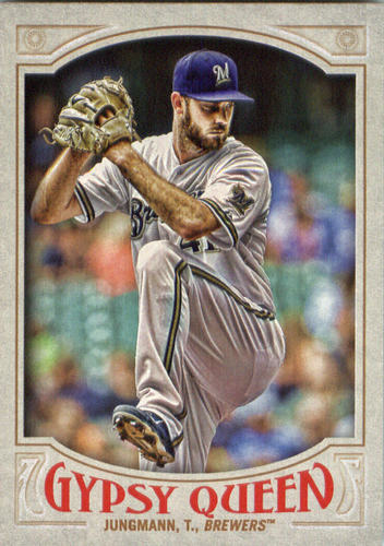 Photo of 2016 Topps Gypsy Queen #195 Taylor Jungmann