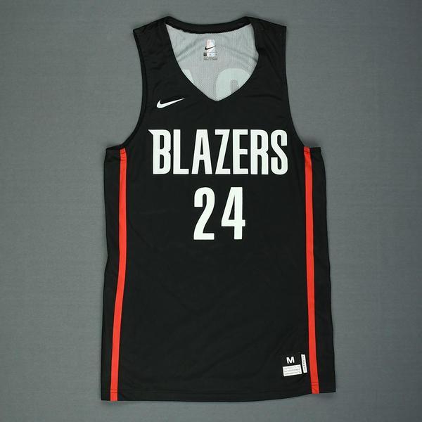 b94b1934c28f Anfernee Simons - Portland Trail Blazers - 2018 NBA Summer League - Game-Worn  Jersey