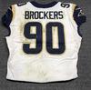 London Games - Rams Michael Brockers game worn Rams jersey (October 22, 2017) Size 48