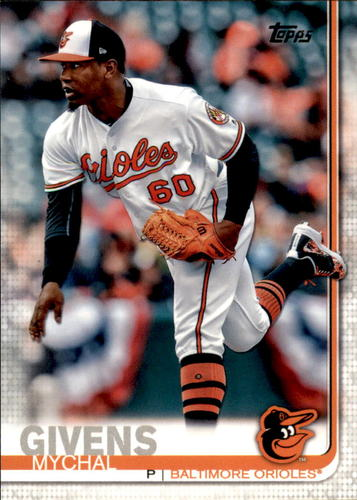 Photo of 2019 Topps #337 Mychal Givens
