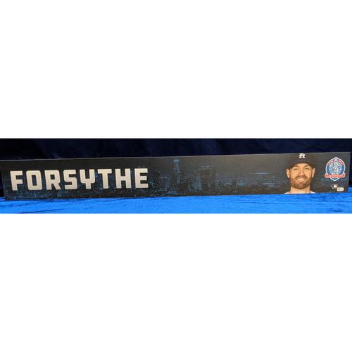 Photo of Logan Forsythe 2018 Regular Season Team-Issued Locker Tag