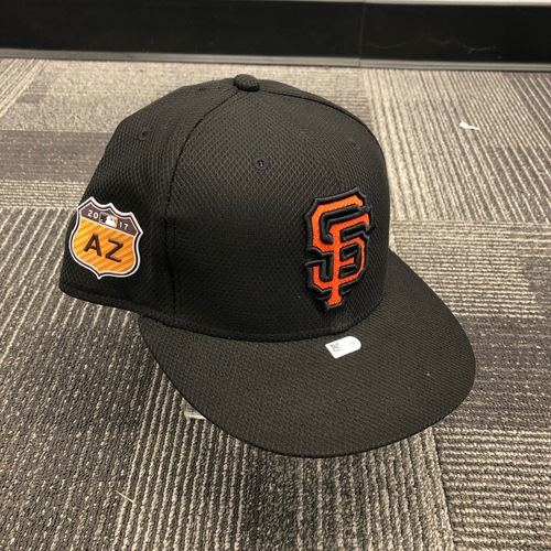 Photo of 2017 Game Used Spring Training Cap worn by #66 Gorkys Hernandez - Size 7 3/8