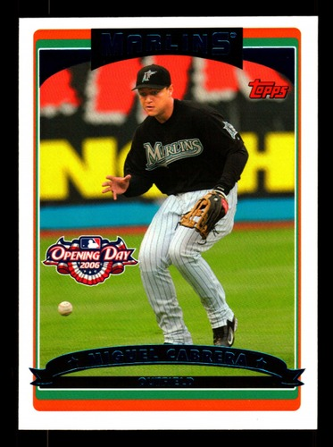Photo of 2006 Topps Opening Day #66 Miguel Cabrera