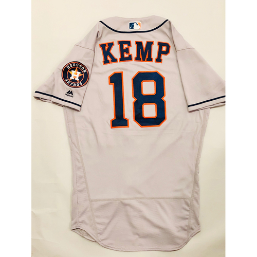 Photo of 2019 Mexico Series - Game-Used Jersey - Tony Kemp, Houston Astros at Los Angeles Angels - 5/4/19