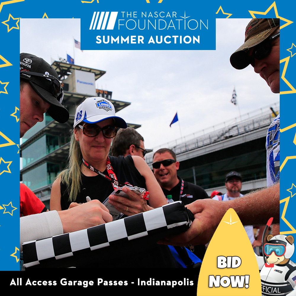 All Access Garage Passes at Indianapolis!