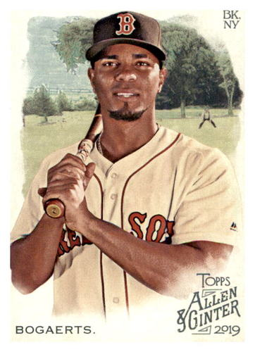 Photo of 2019 Topps Allen and Ginter #145 Xander Bogaerts