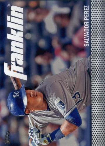 Photo of 2016 Topps Update Team Franklin #TF4 Salvador Perez
