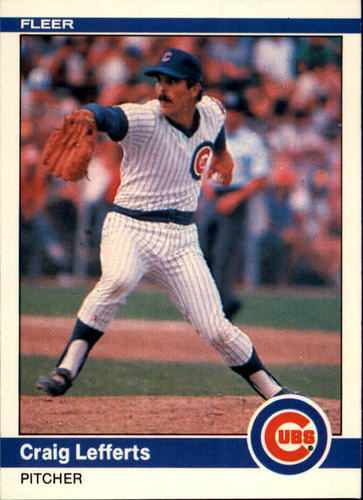 Photo of 1984 Fleer #496 Craig Lefferts RC