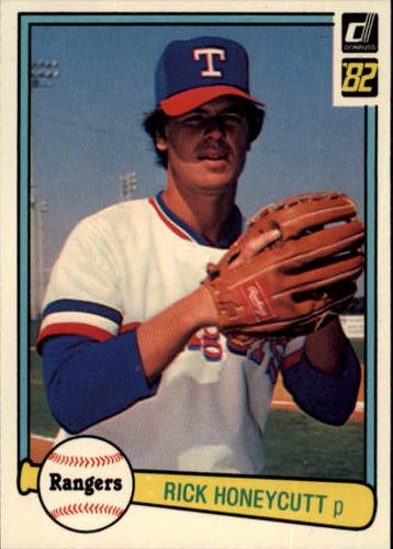 Photo of 1982 Donruss #494 Rick Honeycutt