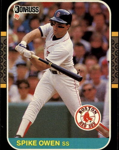Photo of 1987 Donruss #633 Spike Owen