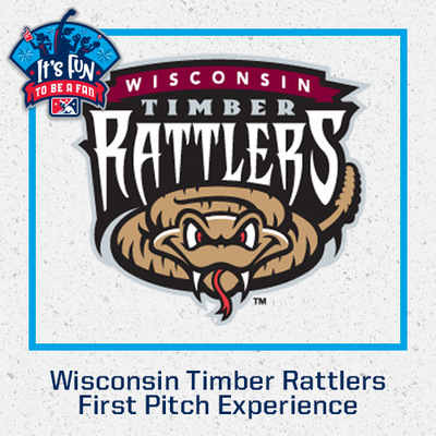 2021 Wisconsin Timber Rattlers First Pitch Experience