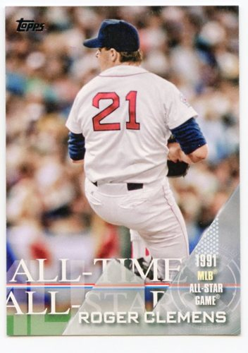 Photo of 2017 Topps All Time All Stars #ATAS24 Roger Clemens