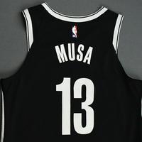 Dzanan Musa - Brooklyn Nets - NBA China Games - Game-Worn Icon Edition Jersey - 2019-20 NBA Season