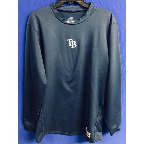 Photo of Rays Baseball Foundation: Team Issued Long Sleeve Workout Shirt