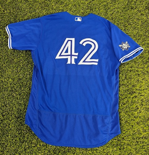 Photo of CHARITY AUCTION: Authenticated Team Issued #42 Jersey: Wilmer Font (2020 Season). Size 52.