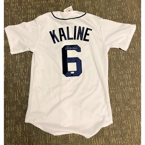 Photo of Al Kaline Detroit Tigers Autographed Home Jersey (MLB AUTHENTICATED)