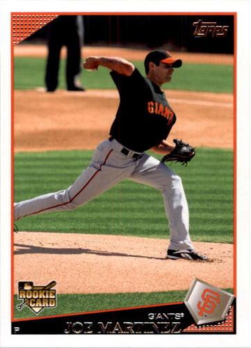 Photo of 2009 Topps #373 Joe Martinez RC