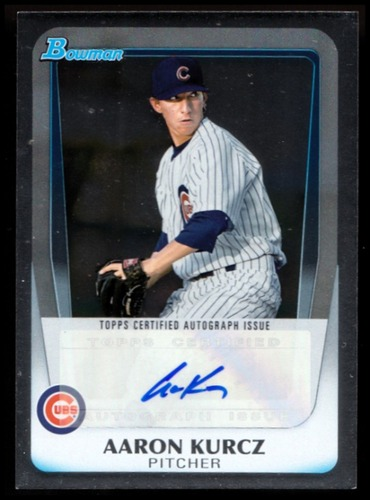 Photo of 2011 Bowman Draft Prospect Autographs #AK Aaron Kurcz