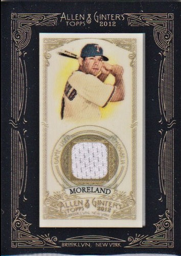 Photo of 2012 Topps Allen and Ginter Relics #MMO Mitch Moreland