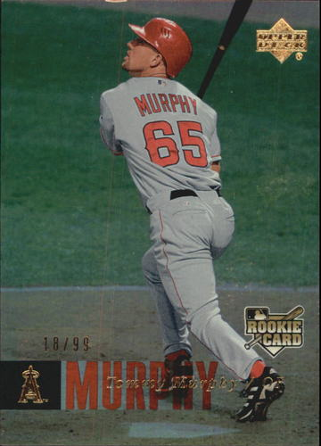 Photo of 2006 Upper Deck Rookie Foil Gold #969 Tommy Murphy