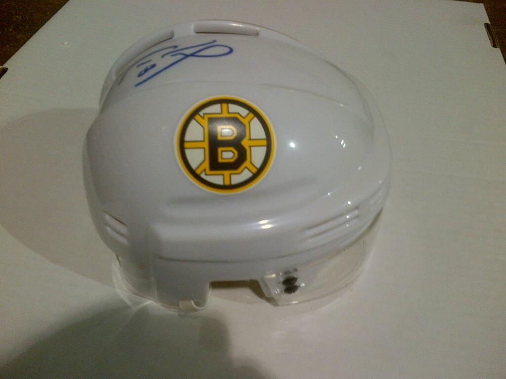 CAM NEELY Boston Bruins SIGNED Mini-Helmet