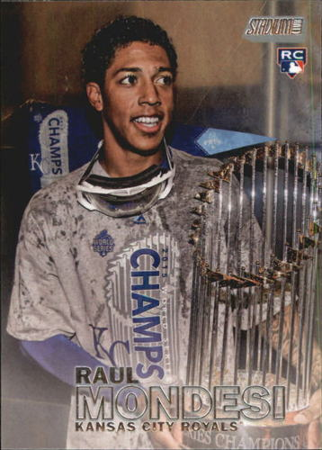 Photo of 2016 Stadium Club #17 Raul Mondesi RC