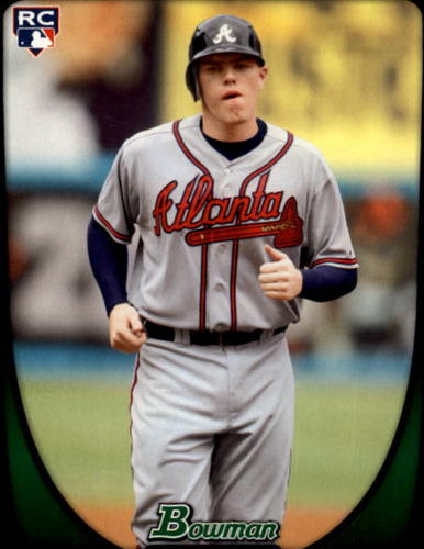 Photo of 2011 Bowman #205 Freddie Freeman RC