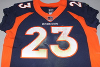 CRUCIAL CATCH - BRONCOS DEVONTAE BOOKER GAME WORN BRONCOS JERSEY (OCTOBER 15, 2017)