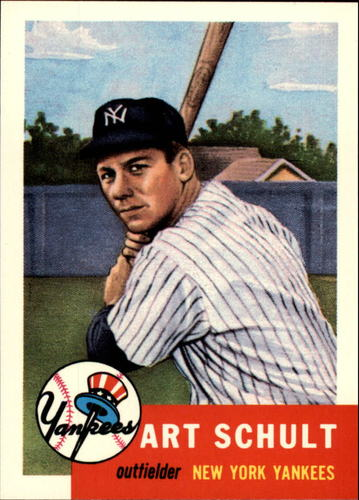 Photo of 1991 Topps Archives 1953 #167 Art Schult