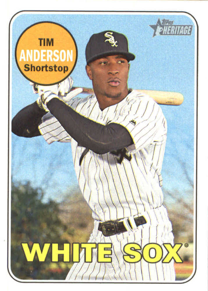2018 Topps Heritage #152 Tim Anderson