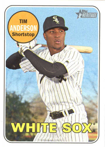 Photo of 2018 Topps Heritage #152 Tim Anderson