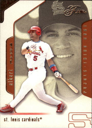 Photo of 2002 Flair #55 Albert Pujols