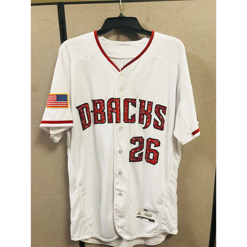 Photo of Shelby Miller Home 4th of July Jersey