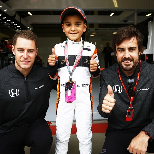 Click to view Become McLaren's Mascot for Race Day at the United States Grand Prix.