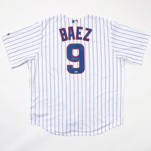 Photo of Compton Youth Academy Auction: Javier Baez Autographed Jersey