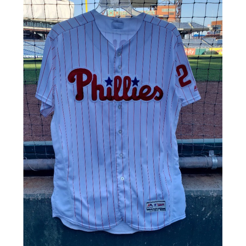 Photo of 2018 Game-Used Aaron Nola Jersey - 200th Strikeout