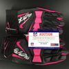 Crucial Catch - Raiders Dan Williams Signed Game Worn Pink BCA Gloves