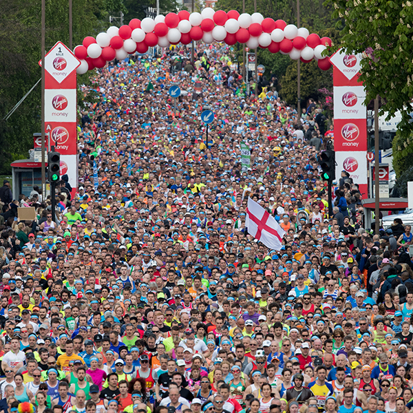 Clickable image to visit Run The 2020 Virgin Money London Marathon including a 1 Night stay at the Holiday Inn London- Stratford City