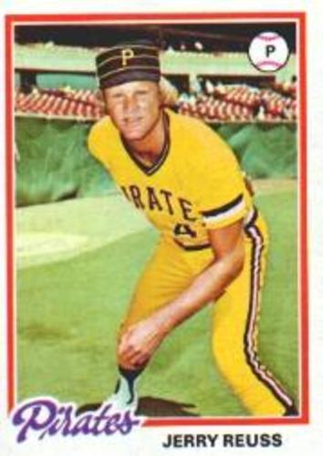 Photo of 1978 Topps #255 Jerry Reuss
