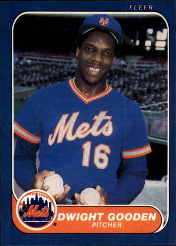 Photo of 1986 Fleer #81 Dwight Gooden