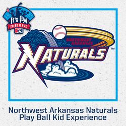 Photo of Northwest Arkansas Naturals Play Ball Kid Experience