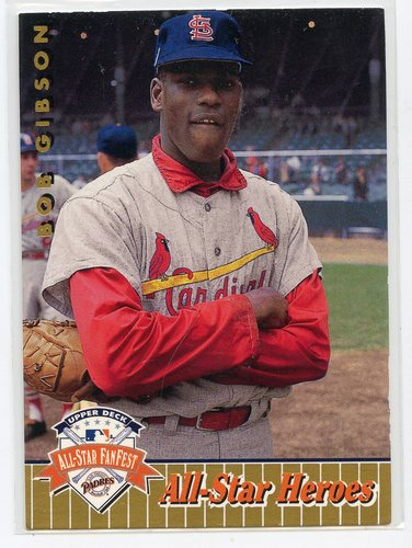 Photo of 1992 Upper Deck FanFest Gold #52 Bob Gibson